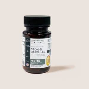 Broad Spectrum CBD Gel Capsules