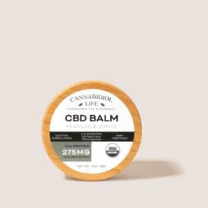 CBD Balm 275mg For Sore Muscles & Joints