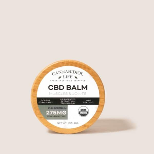 Cannabidiol Life Full Spectrum Cbd Balm For Muscle And Joints - 275Mg Of Total Hemp Extract