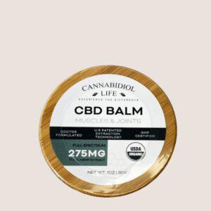 Cbd Balm Product Safety Packaging - Cbd Balm: 275Mg