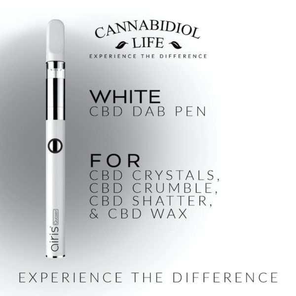 rechargeable cbd dab pen white 350mah