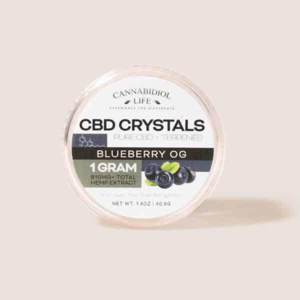 Cbd crystals blueberry 1g - cbd shatter crystals