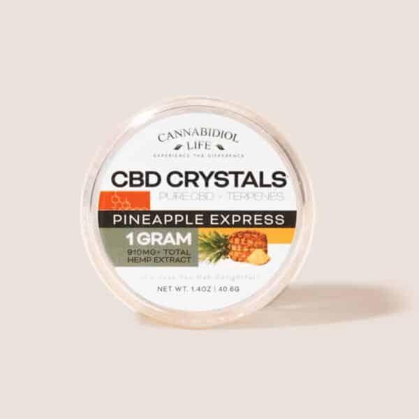 Cbd crystals pineapple express 1g - cbd shatter crystals