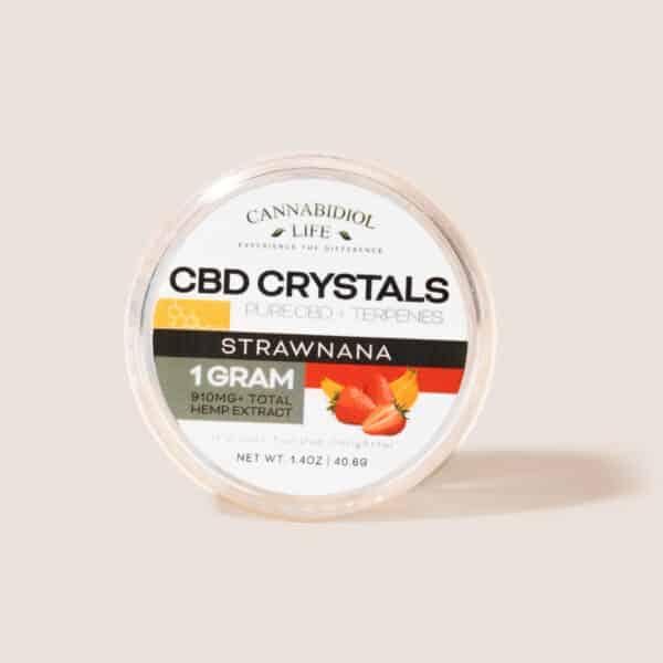 Cbd crystals strawnana 1g - cbd shatter crystals