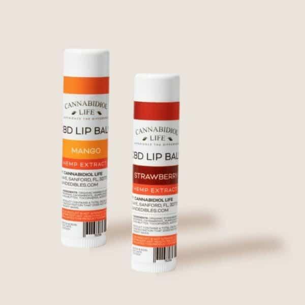 Cannabidiol Life Cbd Isolate Lip Balm Might Mango Flavor - 50Mg Of Cbd Isolate