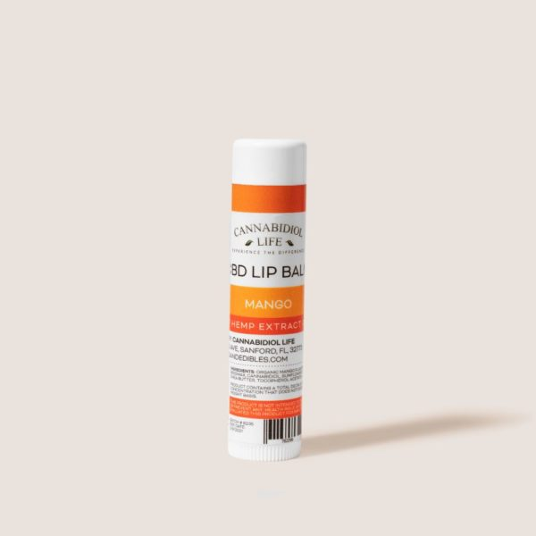 Cannabidiol Life Cbd Lip Balm Mango Flavor - 50Mg Of Cbd Isolate