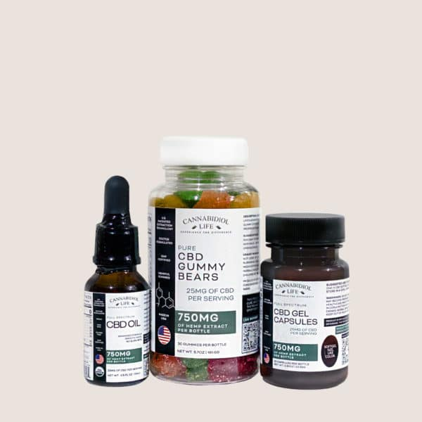 Cannabidiol Life Cbd Starter Kit Wellnes Plus