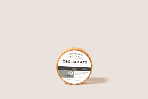 cbg isolate 1g
