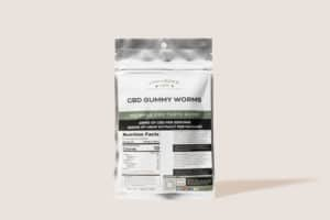 Cannabidiol Life CBD Gummy Worms - 250mg of Hemp Extract Per Package - 25mg of CBD Per Serving
