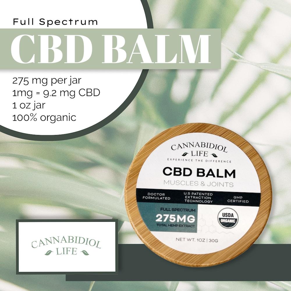 full spectrum cbd balm overview