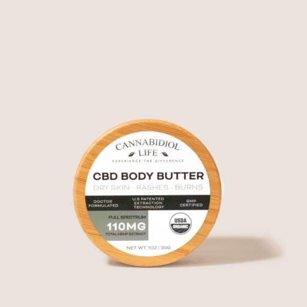 Full spectrum cbd body butter 110mg - full spectrum cbd body butter: 110mg
