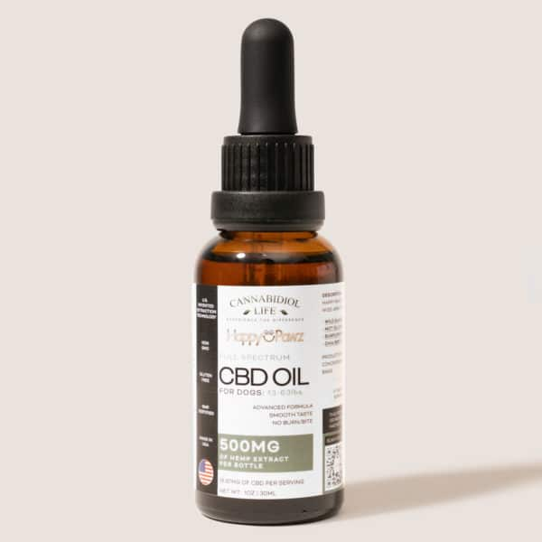 full spectrum cbd oil for dogs 500mg