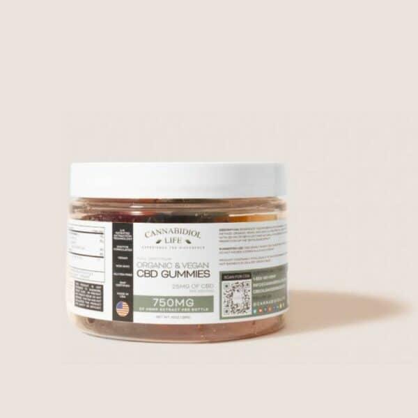 Cannabidiol Life Vegan Full Spectrum Cbd Gummies 750Mg Of Hemp Extract Per Bottle - 25Mg Per Serving