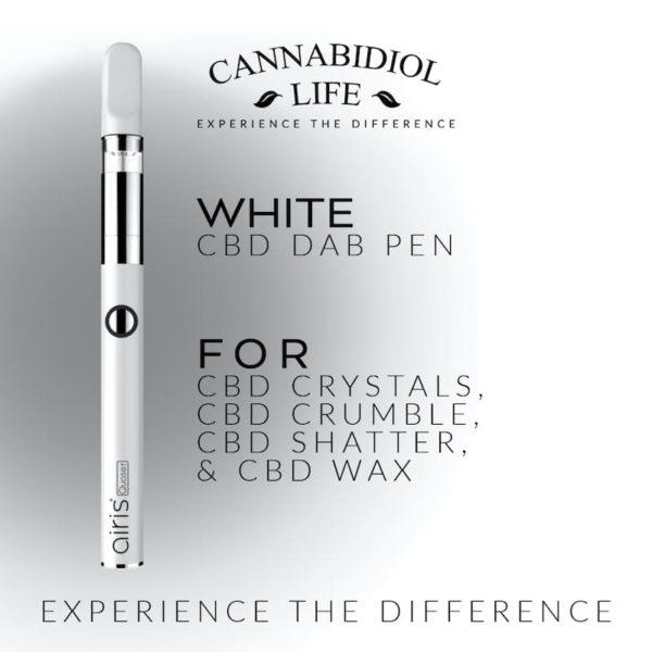 White cbd dab concentrate pen - rechargeable cbd dab pen: 350mah