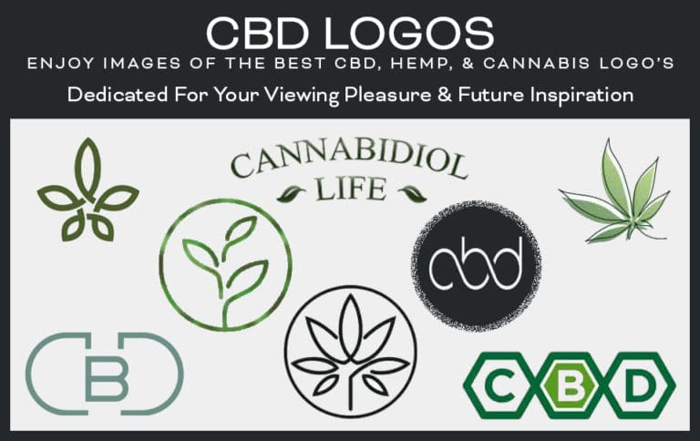 Banner of the best CBD Logos.