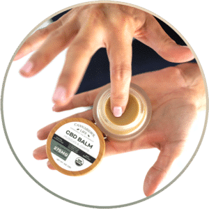How to use and apply CBD balm to sore muscles