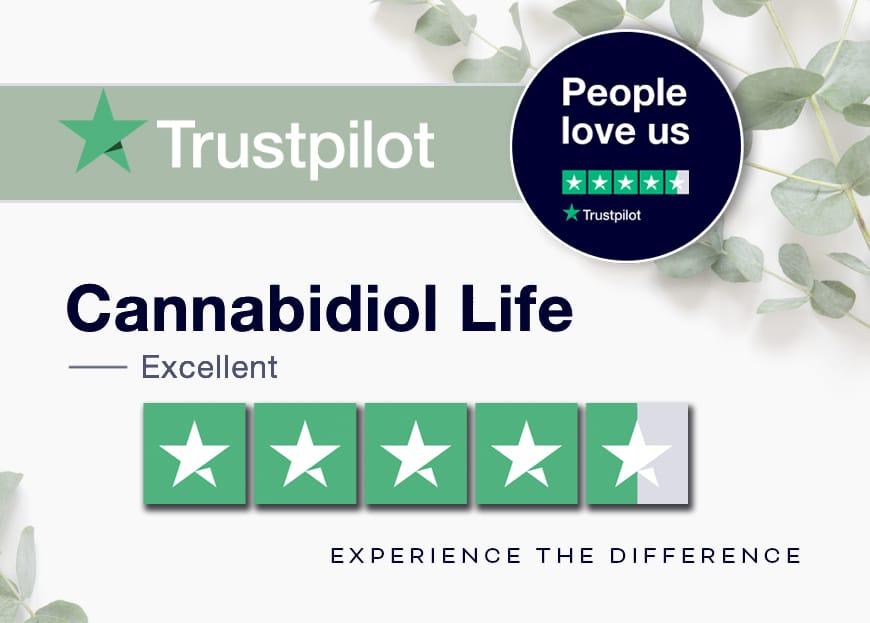 Cannabidiol Life'S Trustpilot Score: Excellent