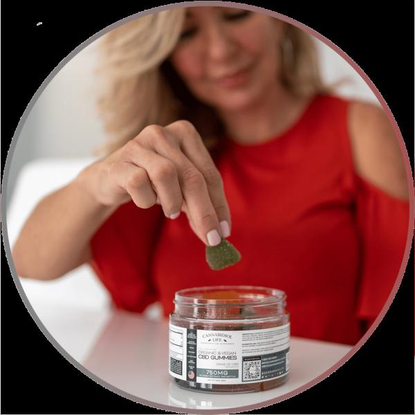 Cannabidiol Life Lime Vegan Full Spectrum Hemp Gummies - 25Mg Per Serving