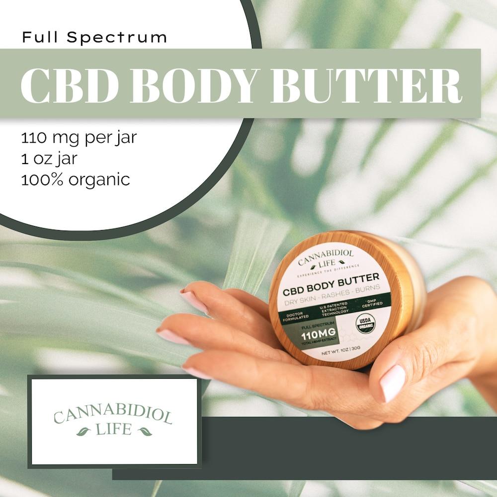 full spectrum cbd body butter overview